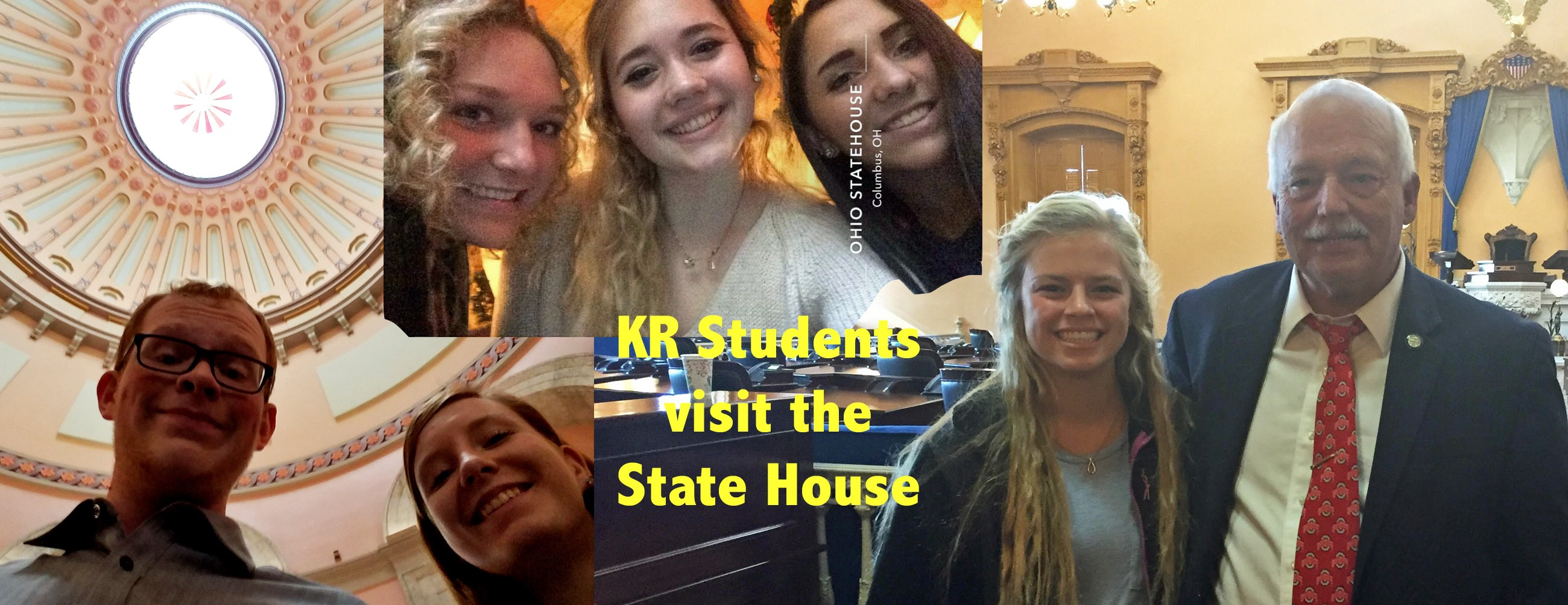 students visit state house