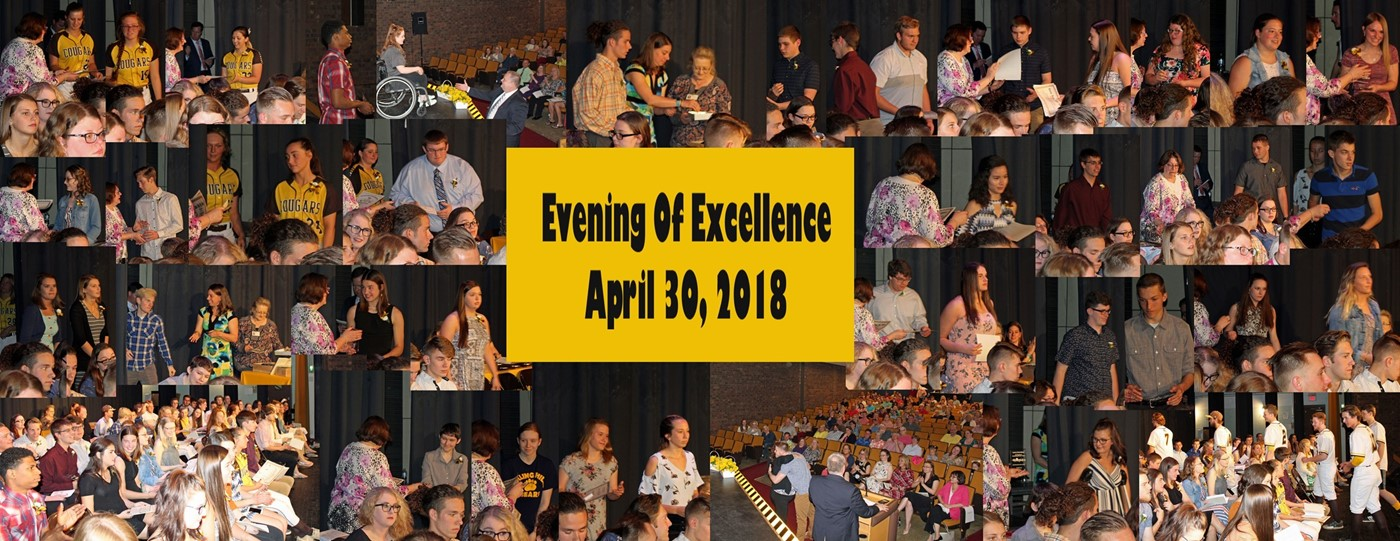 evening of excellence collage