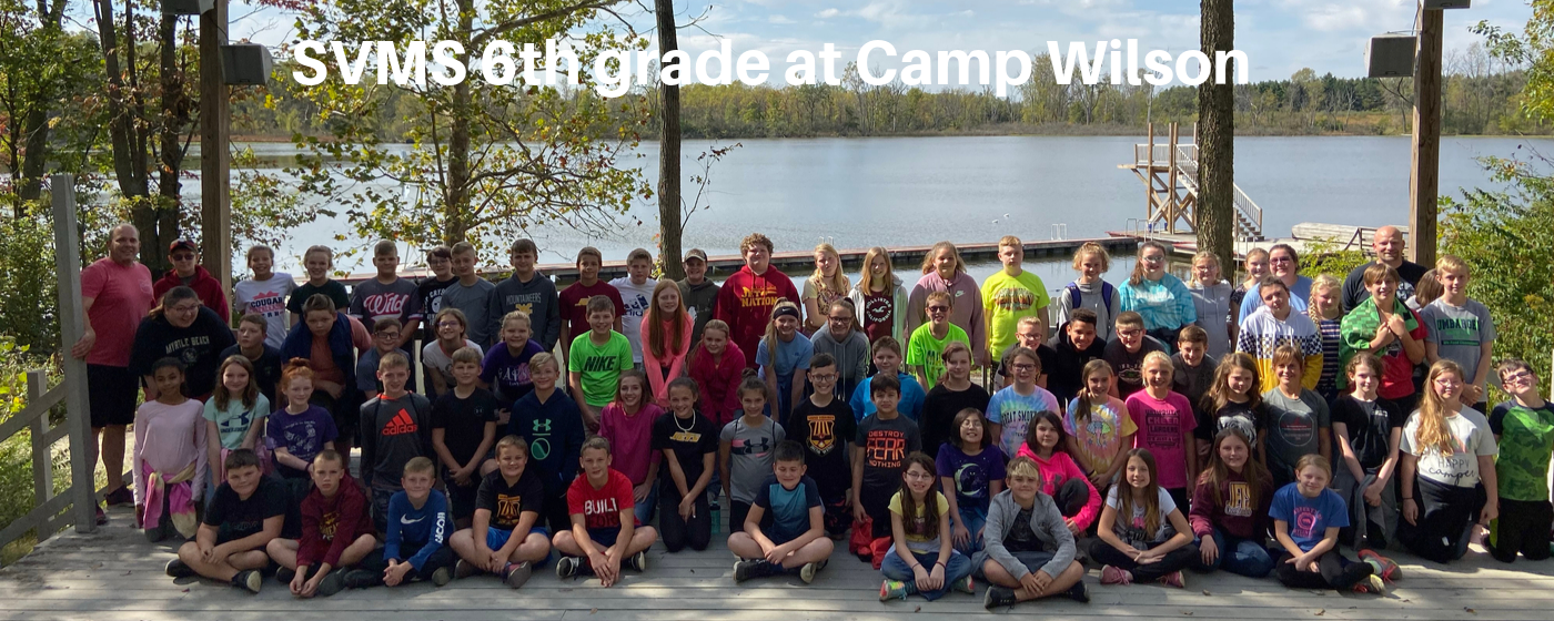 SVMS 6th grade at Camp Wilson