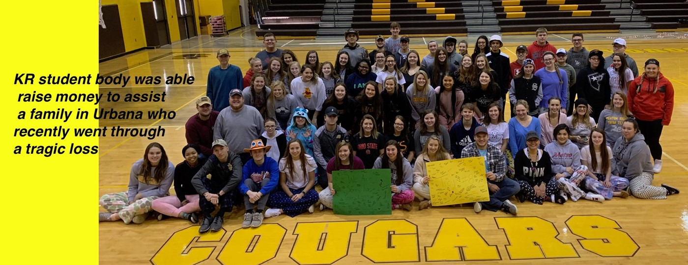 KR Students support grieving family
