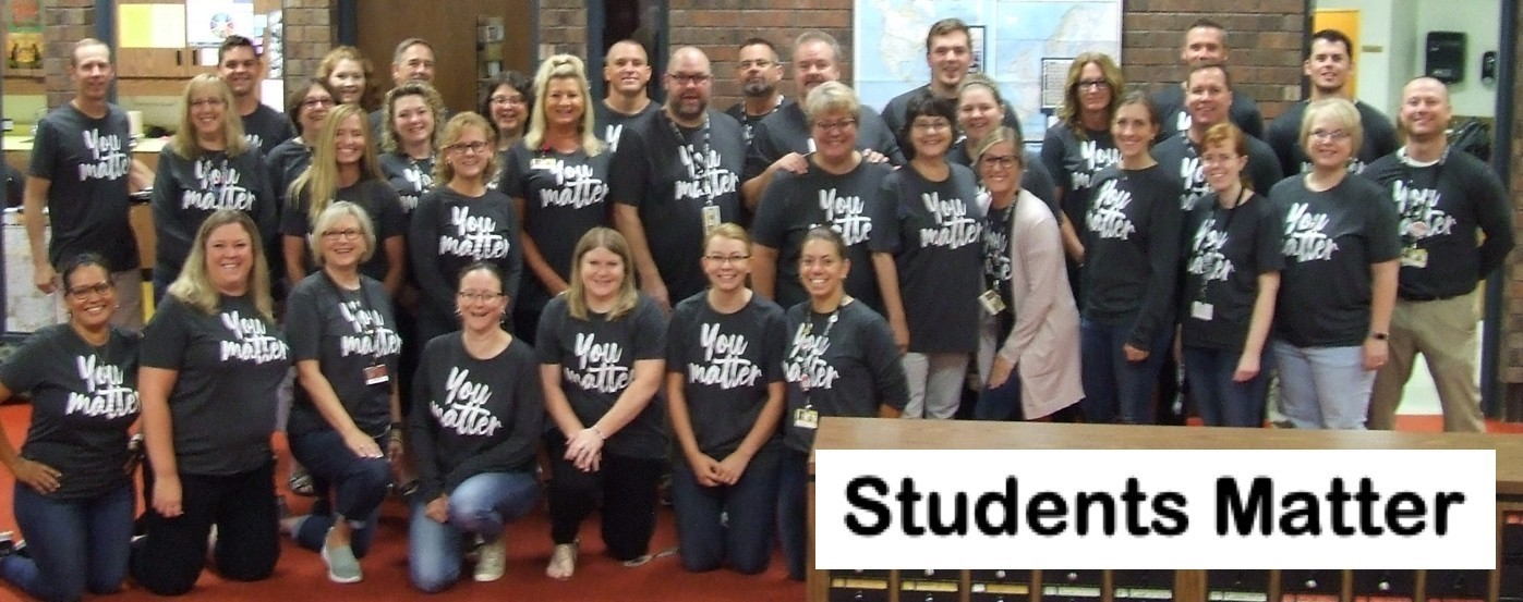 Students Matter to the KR staff
