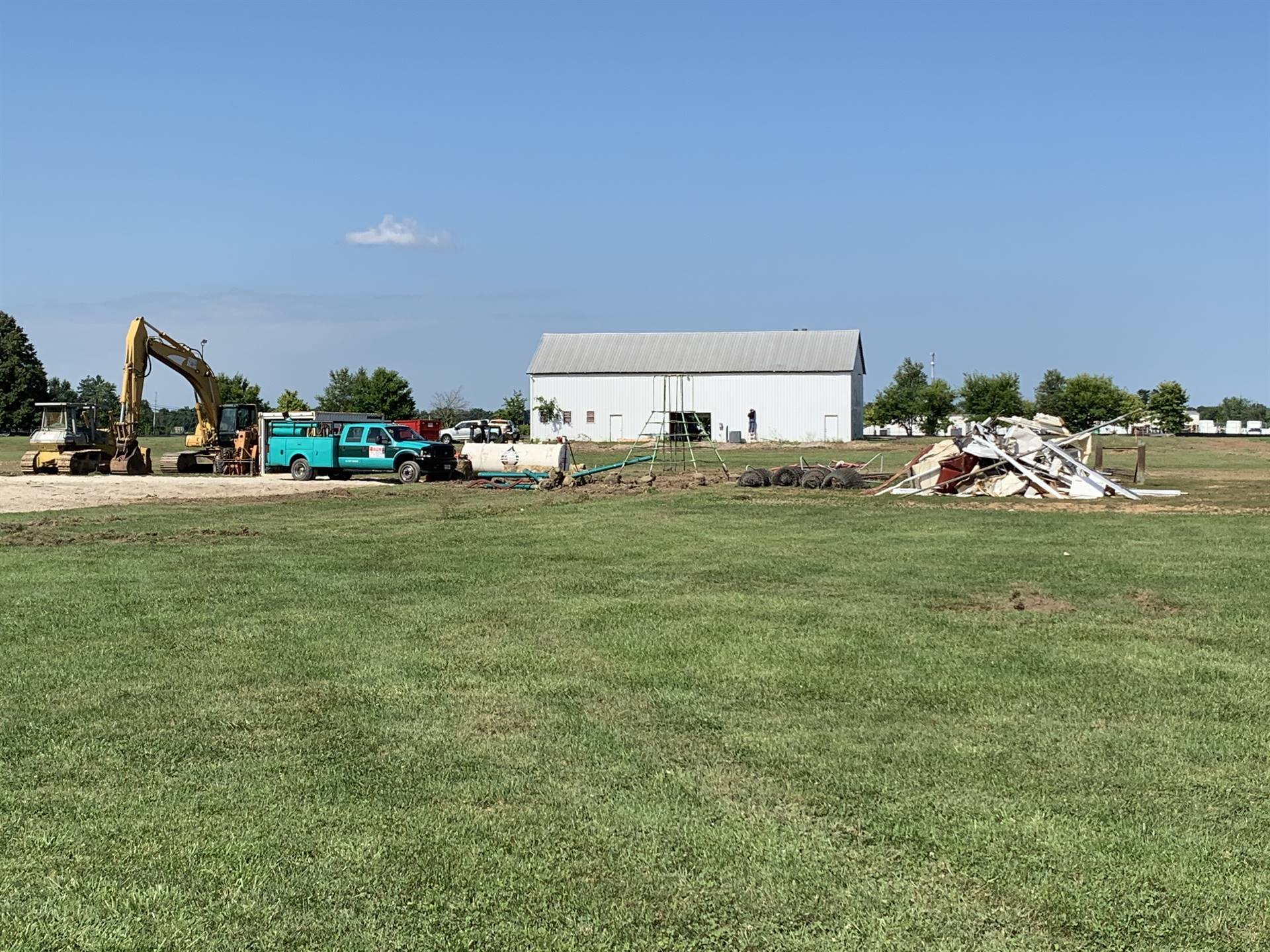Earth is moving at our construction sites! Early site work has begun at the new Northeastern site in