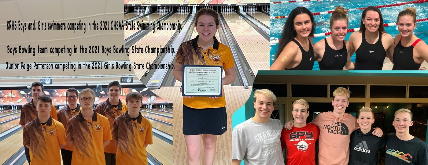Bowlers and swimmers compete at State Championships