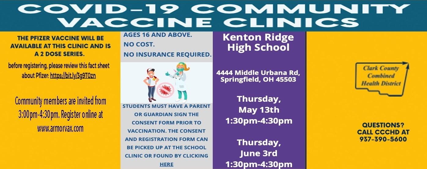 Covid Vaccine May 13th and June 3rd